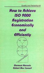 How to Achieve ISO 9000 Registration Economically and Efficiently