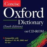 Concise Oxford Dictionary on CD-ROM - Single User