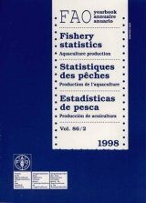 Yearbook of Fishery Statistics 1998 (Vol. 86/2)