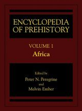 Encyclopedia of Prehistory, Volume 1