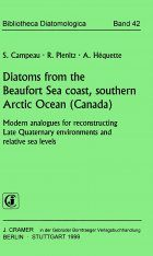 Bibliotheca Diatomologica, Volume 42: Diatoms from the Beaufort Sea Coast, Southern Arctic Ocean, Canada