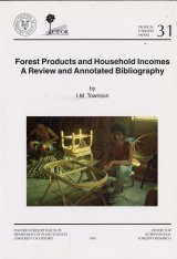 Forest Products and Household Incomes