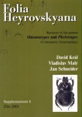 Folia Heyrovskyana, Supplement 8: Revision of the Genera Odontotrypes and Phelotrupes (Coleoptera: Geotrupidae)