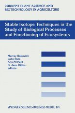 Stable Isotope Techniques in the Study of Biological Processes and Functioning of Ecosystems