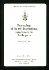 Proceedings of the 10th International Symposium on Trichoptera, Potsdam 2000