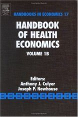 Handbook of Health Economics, Volume 1B