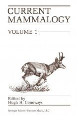 Current Mammalogy, Volume 1