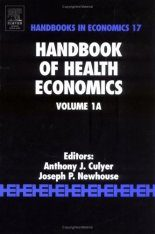 Handbook of Health Economics, Volume 1A