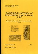 Environmental Appraisal of Development Plans