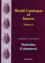 World Catalogue of Insects, Volume 3: Dytiscidae (Coleoptera)