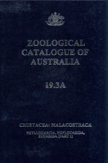 Zoological Catalogue of Australia, Volume 19.3A