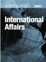 Who's Who in International Affairs 2003