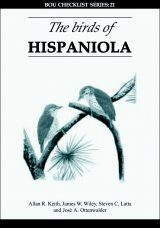 The Birds of Hispaniola