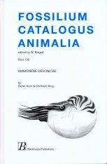 Fossilium Catalogus Animalia, Volume 138 [English]