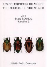 The Beetles of the World, Volume 29: Rutelini 3 [English / French]
