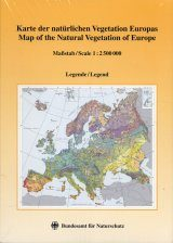 Map of the Natural Vegetation of Europe / Karte der Natürlichen Vegetation Europas: Part 2 / Teil 2: Legend / Legende (Folded Maps)