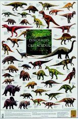 Dinosaurs of the Cretaceous - Poster