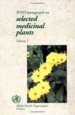 WHO Monographs on Selected Medicinal Plants Volume 2