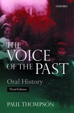 Voice of the Past: Oral History