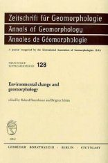 Environmental Change and Geomorphology