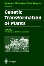 Genetic Transformation of Plants