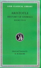 Aristotle: History of Animals: Volume 11, Books 7-10