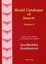 World Catalogue of Insects, Volume 6: Gracillariidae (Lepidoptera)