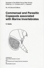 SBF Volume 46: Commensal and Parasitic Copepods Associated with Marine Invertebrates (and Whales)