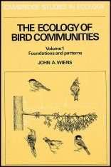 The Ecology of Bird Communities: Volume 1