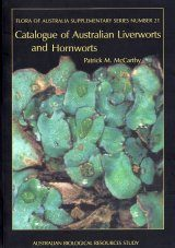 Catalogue of Australian Liverworts and Hornworts