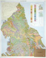 Soils of England and Wales, Sheet 1 (Flat): Northern England