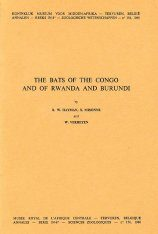 The Bats of the Congo and of Rwanda and Burundi