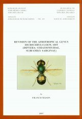 Revision of the Afrotropical Genus Microchrysa Loew, 1855 (Diptera: Stratiomyidae, Subfamily Sarginae)