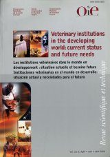 Veterinary Institutions in the Developing World