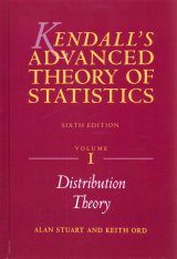 Kendall's Advanced Theory of Statistics (3-Volume Set)