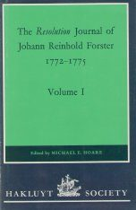 The Resolution Journal of Johann Reinhold Forster, 1772-1775 (4-Volume Set)