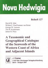 A Taxonomic and Geographical Catalogue of the Seaweeds of the Western Coast of Africa and Adjacent Islands