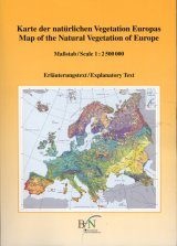 Map of the Natural Vegetation of Europe / Karte der Natürlichen Vegetation Europas: Part 1 / Teil 1: Explanatory Text With CD ROM