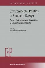Environmental Politics in Southern Europe