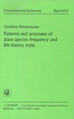 Patterns and Processes of Plant Species Frequency and Life-history Traits
