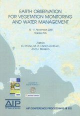Earth Observation for Vegetation Monitoring and Water Management