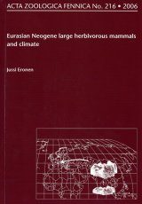 Acta Zoologica Fennica, Vol. 216: Eurasian Neogene Large Herbivorous Mammals and Climate