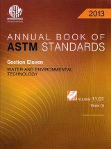 Annual Book of ASTM Standards - Volume 11.01: Water (I)