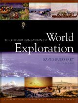 The Oxford Companion to World Exploration (2-Volume Set)