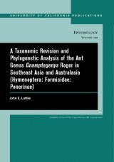 A Taxonomic Revision and Phylogenetic Analysis of the Ant Genus Gnamptogenys Roger in Southeast Asia and Australasia (Hymenoptera: Formicidae: Ponerinae)