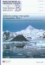 Antarctic Ecology, Part 1 and Part 2
