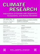 Ecological Effects of Climate Variability: Studies on Mammals
