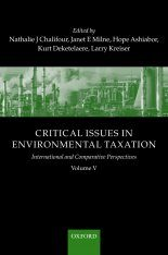 Critical Issues in Environmental Taxation, Volume 5
