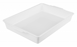 White Sampling Trays