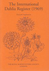 The International Dahlia Register (1969) - Sixteenth Supplement